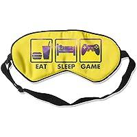 Purple Galaxy Eat Sleep Game 99% Eyeshade Blinders Sleeping Eye Patch Eye Mask Blindfold for Travel Insomnia Meditation preisvergleich bei billige-tabletten.eu