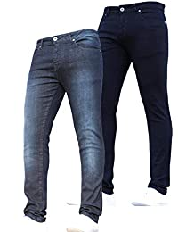 72b8a707c New Boys Multipack Kids Designer Stretch Slim Fit Denim Jeans with  Elasticated Waist by JEANBASE