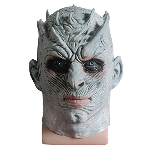 Horror Maske, Halloween Cosplay Scary Maske Kostüm Für Erwachsene Party Dekoration Requisiten Gruselig (Beige)