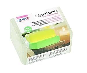 GLOREX 6 1600 120 Glycerin-Seife Öko 250g transparent