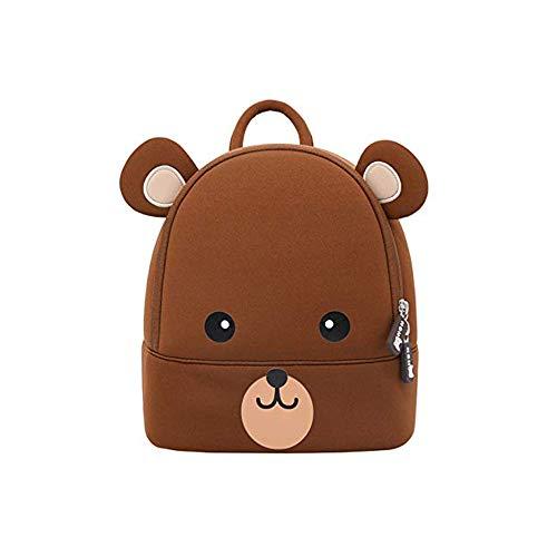LLHH Kinderrucksack Kleinkind Kinderrucksack Kind Niedliche Zoo Sidekick Tasche Vorschule Cartoon Bär Rucksack für 2-6 Jahre,L - Zoo Kumpels
