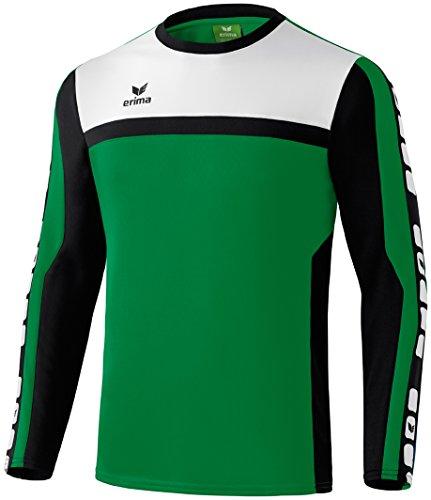 CLASSIC 5-CUBES Trainingssweat Smaragd/Schwarz/Weiß