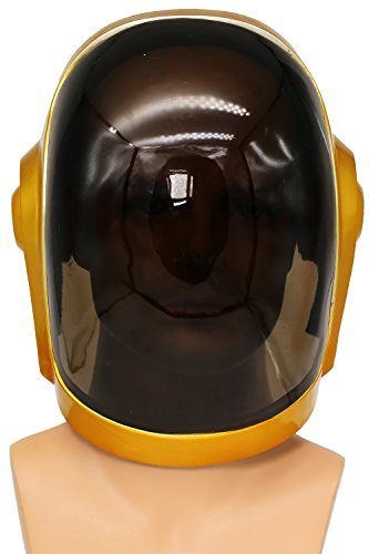 Kostüm Daft Halloween Punk - Cosplay Helm Maske Herren Kostüm Replica DJ Props Voller Kopf für Halloween Verrücktes Kleid Kleidung Merchandise