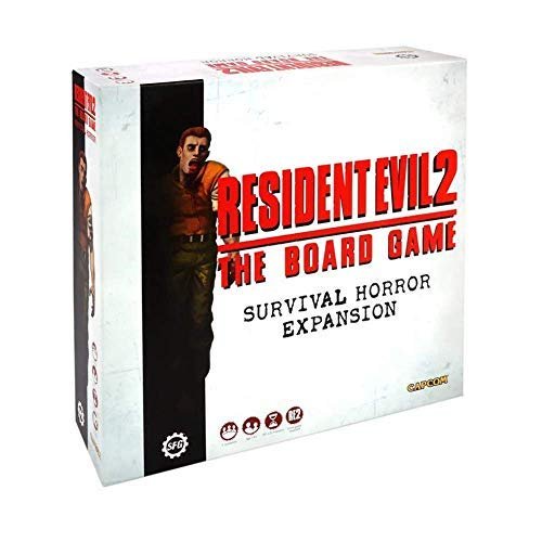 Resident Evil 2 The Board Game Survival Horror Expansion