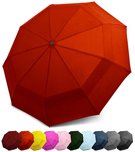 Ernst Herren Regenschirm Taschenschirm Sehr Groß Leicht Stabil verschiedene Designs
