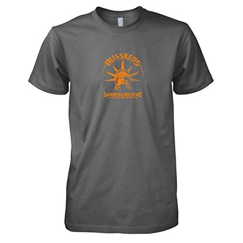 TEXLAB - Plissken's Search and Rescue - Herren T-Shirt Grau