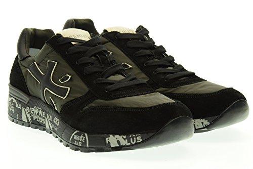 PREMIATA uomo sneakers basse MICK 1785 45 Nero-verdone