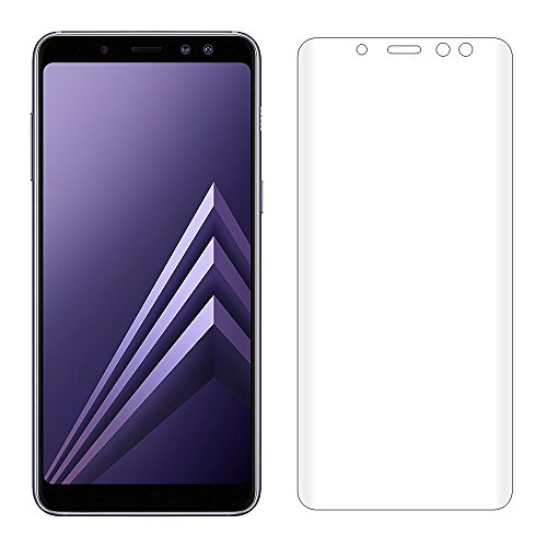 samsung galaxy a8 plus 2018 screen protector misvoice 3d full coverage full coverage tempered. Black Bedroom Furniture Sets. Home Design Ideas