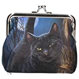 Nemesis Coin Cash Money Purse A Brush with Magick Cat by Lisa Parker Gift