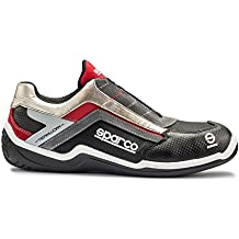 Sparco S0750945NRRS Rally Zapatillas, 45