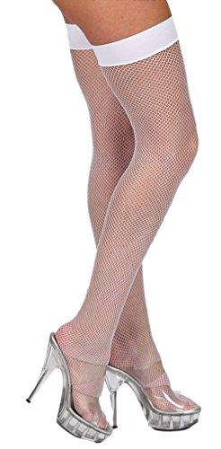 Fashion Verwandte Kostüm - krautwear Damen Strumpfhose Offen Netzstrümpfe Halterlose