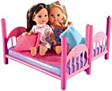 Simba Evi Love 10 573 3847 Doll Bunk Bed with Accessories