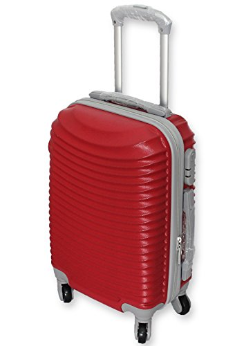 trolley-valigia-bagaglio-a-mano-cabina-ryanair-easy-jet-4-ruote-low-cost-2016-rosso