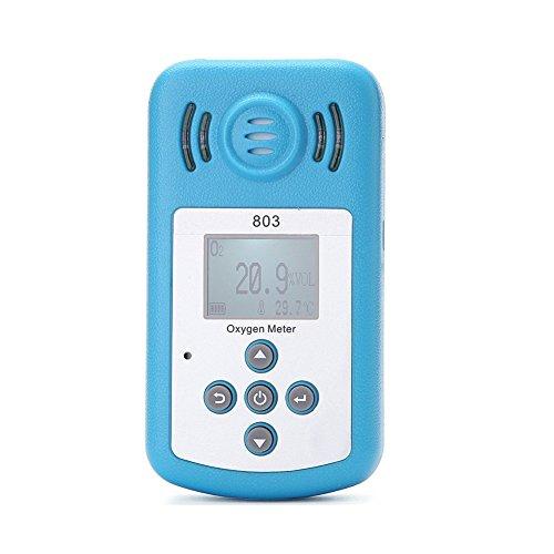 lobzon kxl-803con pantalla LCD–Detector de gas portátil detector de oxígeno oxígeno concentración...