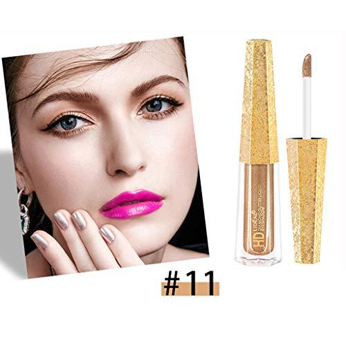 Liquid Eyeshadow Eyeliner Makeup Langlebige Goldener Lidschatten Shiny Glitter Wasserdicht Schimmer Und Glanz Lidschatten-Aufkleber Metallic-Pigmente Make Up Lidschatten Von Frashing
