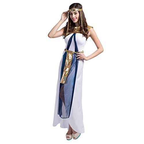 kostüm, Ägypterin Kostüm Königin Cleopatra Ägypten Frauenkostüm Damen (Griechischen Königin Kostüme)