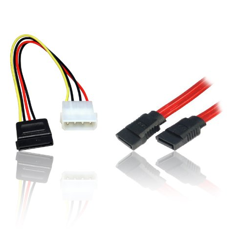 CDL-Micro-Cable-de-unidad-de-disco-duro-y-cable-SATA-2-unidades-alimentacin-y-datos