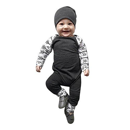 Baby 5 Halloween Monat Mädchen Altes Kostüm (Trada Neugeborene Baby Jungen Mädchen Outfits Strampler Solide Pfeil Drucken Overall Jumpsuit Baby Spielanzug Set Baby Nachtwäsche Babykleidung (18 Monate Alt,)
