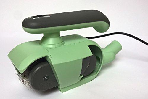 FurWonder Elektrische Hundebürste Basic Mint zum Entfilzen Kämmen Bürsten Massieren