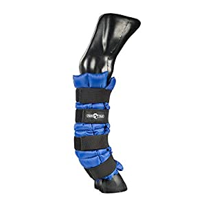 netproshop Weiche Kühl Bandage schwarz, Bandagierunterlage, Kühl Gamaschen für das Pferd