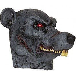 Bristol Novelty bm469Zombie Ratte Maske, Eine -