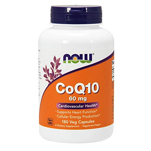 180 Vcaps Now Foods (NOW Foods CoQ10 60mg, 180 Vcaps)