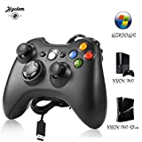 Manette Xbox 360 - Manette Xbox PC Joystick pour Xbox 360 et Windows 7/8/10...