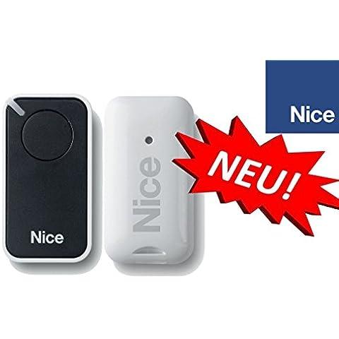 Nice INTI1 Mando a distancia original para puertas automáticas, 1 botone, 433,92 MHz, rolling code!!!