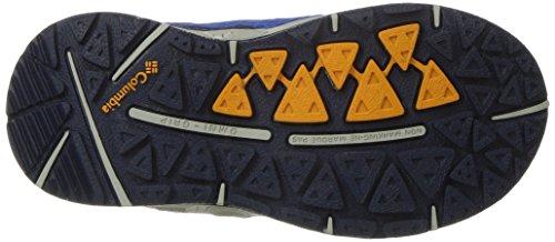 Columbia Childrens Drainmaker Iii, Chaussures Multisport Outdoor Garçon Bleu (Stormy Blue, White 427)