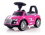Porteur Auto en 5 couleurs: la voiture parfaite pour votre petit coureur automobile. Cette voiture a l'allure d'une vraie voiture de sport, Couleur:Rose