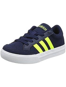 adidas VS SET K - Zapatillas deportivaspara niños, Azul - (MARUNI/AMASOL/FTWBLA), 34