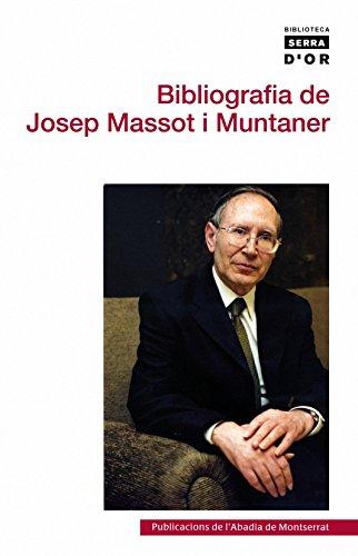Bibliografia de Josep Massot i Muntaner por Joan Martí i Castell