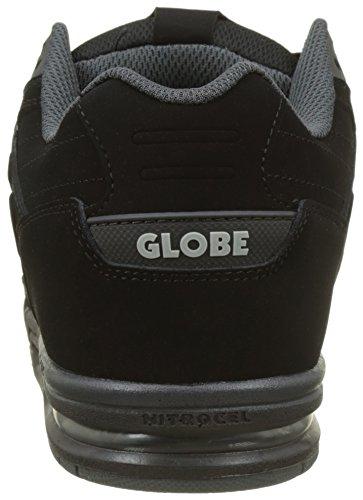 Globe Fury, Scarpe da Skateboard Uomo Nero (Black/black)