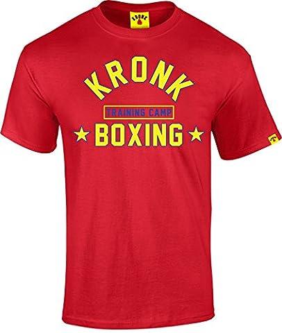 KRONK - T-shirt - Homme - Rouge - Medium