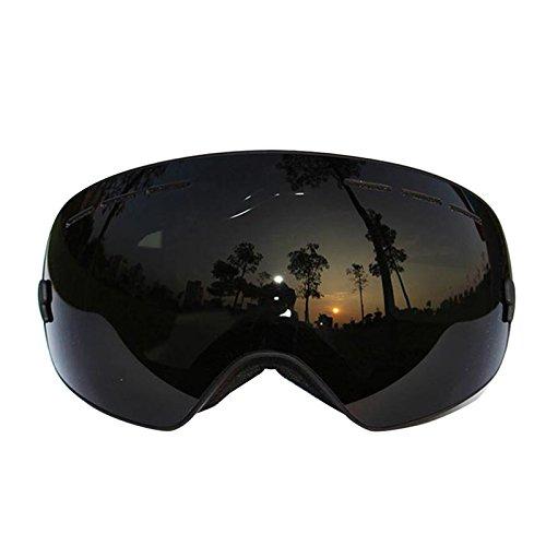 Professionelle Skibrille, UV400Anti-Fog Doppel-Major Skibrille SNOW Snowboarden Pro Brillen Herren Frauen