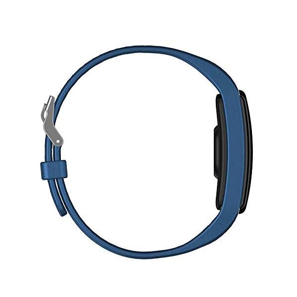 TOOGOO Banda de Rastreador de Actividad Inteligente Y9 Pulsera de Fitness Monitor de Pulso Cardíaco Pulseras de Presión Arterial para Teléfono Inteligente Banda Inteligente (Azul) 2