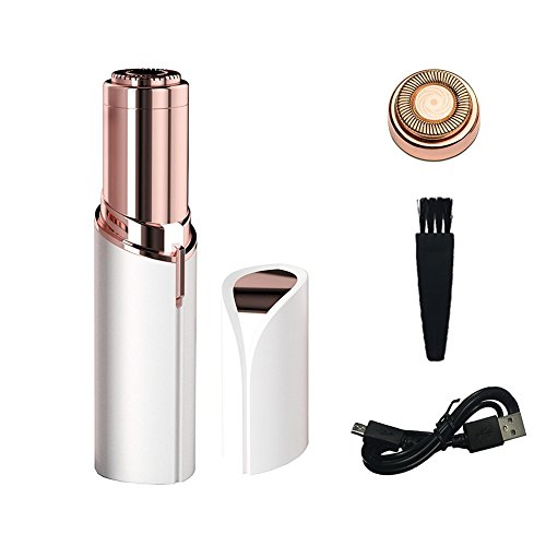 Neue Upgrade Wiederaufladbare Frauen Gesichts Rasierer, OYOTRIC Lippenstift Modell Epilierer perfekt für Oberlippe, Kinn, Wangen, Bikini, Achselhöhle Electric Body Rasierer