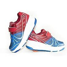 Envio 24H Usay like Zapatillas Con Ruedas Color Azul Rojo Para Niña Niño Talla 28 hasta 35 Envio Desde España