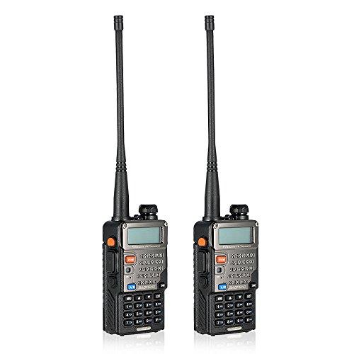 BaoFeng 128CH Dual Band VHF 136-174 MHz & UHF 400-520MHz Talkie Walkie Transceiver 2-Wege-Radio Portable Handheld Wasserdichte Interphone Long Distance 1800mah Akku