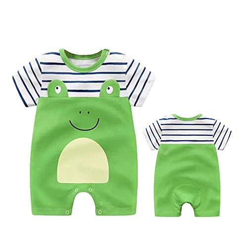 YICANG Baby Niedlichen Tier Overall Outfits Sommer Kurzarm Baumwolle Infant Jungen Mädchen Overall Kleidung Neugeborenen Onesies Baby Kleidung (Niedlichen Onesies Frauen)