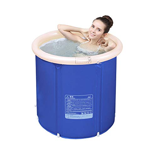 KFRSQ Whirlpool Swimmingpool Aufblasbar Pool Outdoor ,Faltwanne Bad Barrel Erwachsenen Badewanne Aufblasbares Verdickung