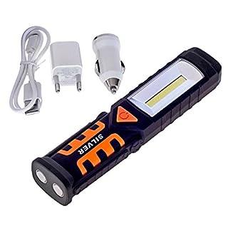 Arbeitsleuchte 3 IN 1 COB LED Werkstattlampe Taschenlampe Handlampe (LAT-LED)