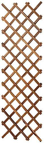 Blumenstand Blumenregal Pflanze ausstellungsstand Wand- Grid Klettergerüst Wandbehang Orchidee Grün Rettich Bonsai Rack-Betriebsaufhänger Holz Anti-Korrosions Schwimmdock Regale, Größe: 48 x 210 cm