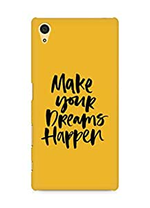 AMEZ make your dreams happen Back Cover For Sony Xperia Z5