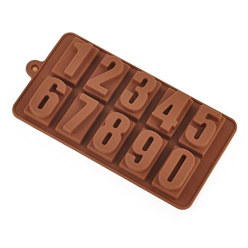 kform/Kuchenform für Muffins, Brownies, Schokolade, Gelee, Eiscreme - Silikonform Anzahl für Halloween Weihnachtsfeier, Geburtstag, Abschiedsfeier, Kuchenverzierung ()