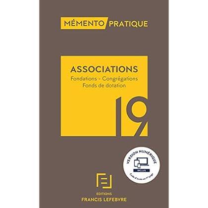 Mémento Associations 2019