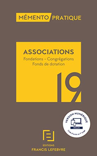 Mémento Associations 2019 par  Collectif