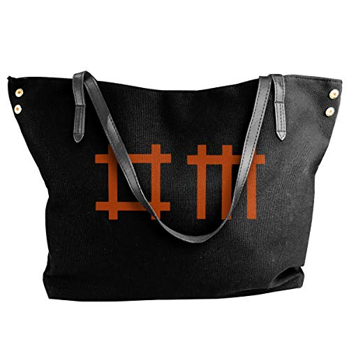 Jiaojiaozhe Depeche Mode 2 Women's Classic Shoulder Portable Big Tote Handbag Work Canvas Bag