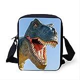 KHDJH Zaino per bambini Cool Jurassic World Dinosaur Scuola Sacchetto Set Per Adolescenti Ragazzi 3d Studente Bambini Scuola Primaria Bambini Zaino D D