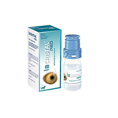 Farmadiet Lacristal Neo Limpiador de Ojos para Tratamiento de Cataratas en Perros y Gatos - 10 ml